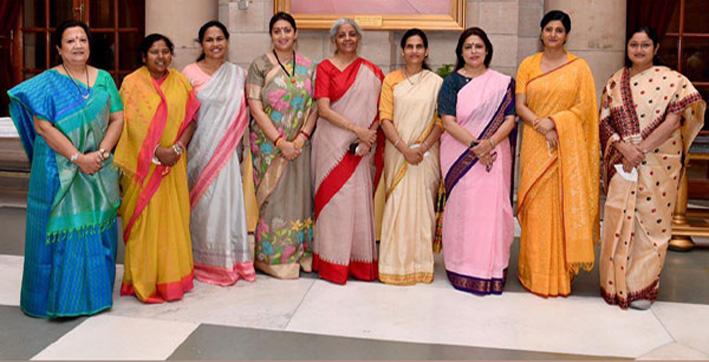 cabinet-expansion-women-ministers-in-pm-modis-team-don-handloom-sarees-reflec
