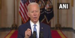 US Will Continue To Support Afghan People through Diplomacy, Aid: Biden