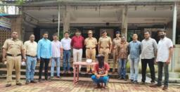 23 -year- old youth arrested for possessing Marijuana in Mumbai