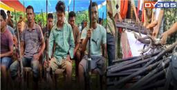 57 Poachers Of Raimona National Park Surrender
