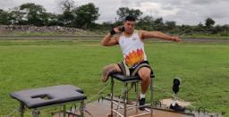 Havildar Soman Rana, Para Athlete of Army Paralympic Node Selected for Tokyo Paraly ..