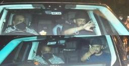 Salman Khan Visits Shah Rukh Khan After Aryan