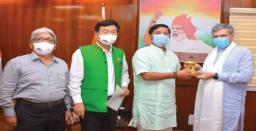 Union Minister for Information Technology Assures Fund for Extension of SWAN in Aru..