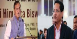 Assam, Meghalaya CMs to Talk Over Border Dispute in Guwahati Today